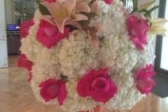 P 7  Dekorativer Blütenball