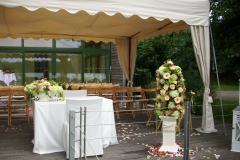 H 2  Hochzeitsdekoration