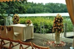 H 17  Hochzeitsdekoration